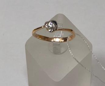 Кольцо золотое новое 16.5 р-р