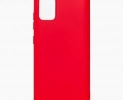 Накладка TPU МАТОВАЯ Samsung A515 Galaxy A51 красная