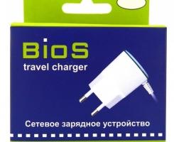 СЗУ BIOS MicroUSB белое