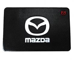 Противоскользящий коврик MAZDA черный