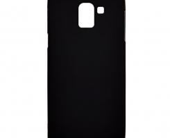 Бампер для Samsung Galaxy J6 (2018) черный