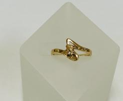 Кольцо золотое 1,70 гр