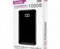 Внешнее ЗУ Olmio FS-10 10000mAh