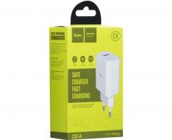СЗУ с USB HOCO Victoria Fast Charge,2.1A