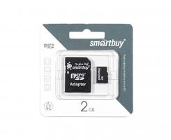 Flash карта MicroSD 2Gb
