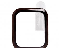 Защитное стекло Activ Clean Line 3D для Apple Watch 44мм, черное