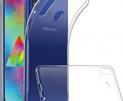 Бампер на Samsung Galaxy A10S прозрачный