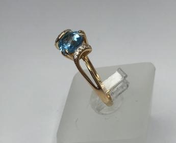 Крест нательный золотой