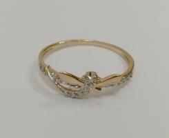 Кольцо золотое новое 16 р