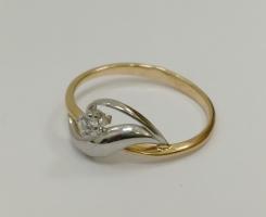 Кольцо золотое новое 15.5 р