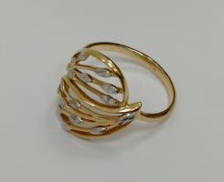 Кольцо золотое новое 18 р