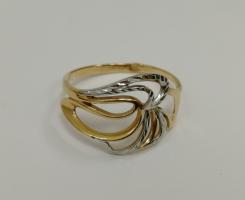 Кольцо золотое новое 17 р