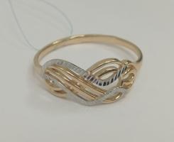 Кольцо золотое новое 16.5 р