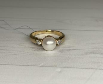 кольцо золотое с бриллиантом 21,75 р