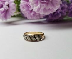 Кольцо золотое 16 р-р