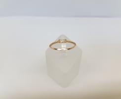 Кольцо золотое новое