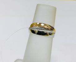 Кольцо золотое 16,5 р-р