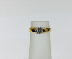Кольцо золотое 15 p-p
