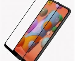 Защитное стекло Samsung Galaxy M215/M315/M21/M31 черное