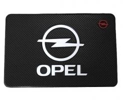 Противоскользящий коврик Opel черный