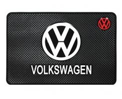 Противоскользящий коврик Volkswagen черный