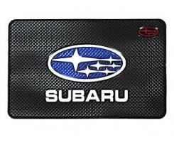 Противоскользящий коврик Subaru черный