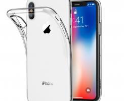 Бампер для iPhone X/XS прозрачный