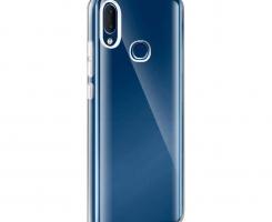 Бампер для Samsung Galaxy A10 прозрачный