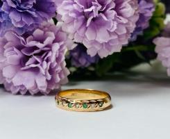 Кольцо с бриллиантами 15.5 р-р