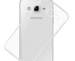 Бампер для Samsung Galaxy J5 (2016) прозрачный