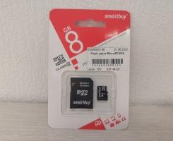 Flash карта Micro SD 8Gb